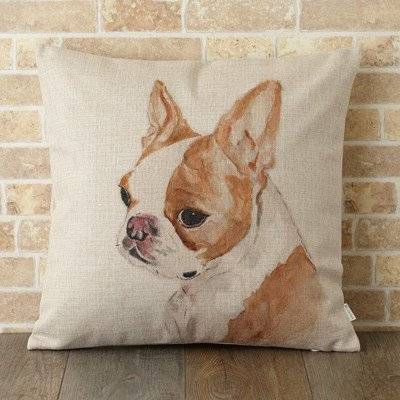 <img class='new_mark_img1' src='//img.shop-pro.jp/img/new/icons8.gif' style='border:none;display:inline;margin:0px;padding:0px;width:auto;' />【 Jubilee London 】Cushion -Brown French Bulldog-
