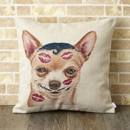 【 Jubilee London 】Cushion -Chihuahua Animal Dog-
