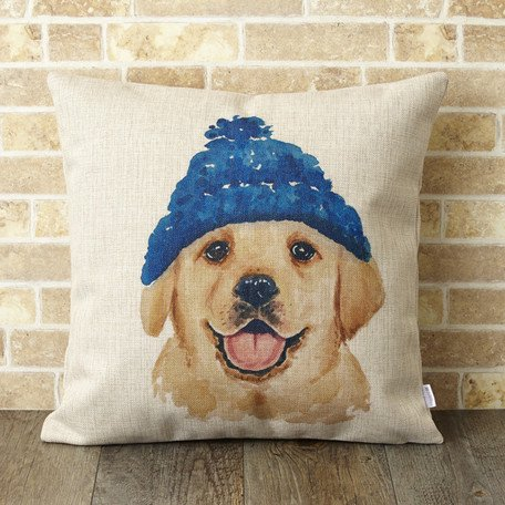 【 Jubilee London 】Cushion -Golden Retriever Dog-
