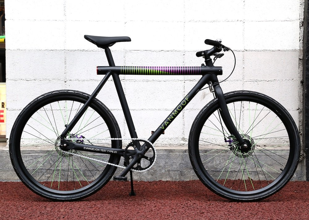 【 VANMOOF by EVANGELION  】EVA-01 Model