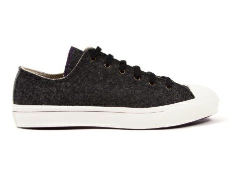 【TIMOTHY EVEREST × MOONSTAR】VULCANIZATE WOOL SNEAKER  (Charcoal)