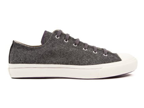【TIMOTHY EVEREST × MOONSTAR】VULCANIZATE WOOL SNEAKER  (Light Grey)