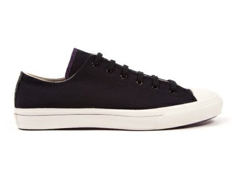 【TIMOTHY EVEREST × MOONSTAR】VULCANIZATE WOOL SNEAKER  (Midnight)