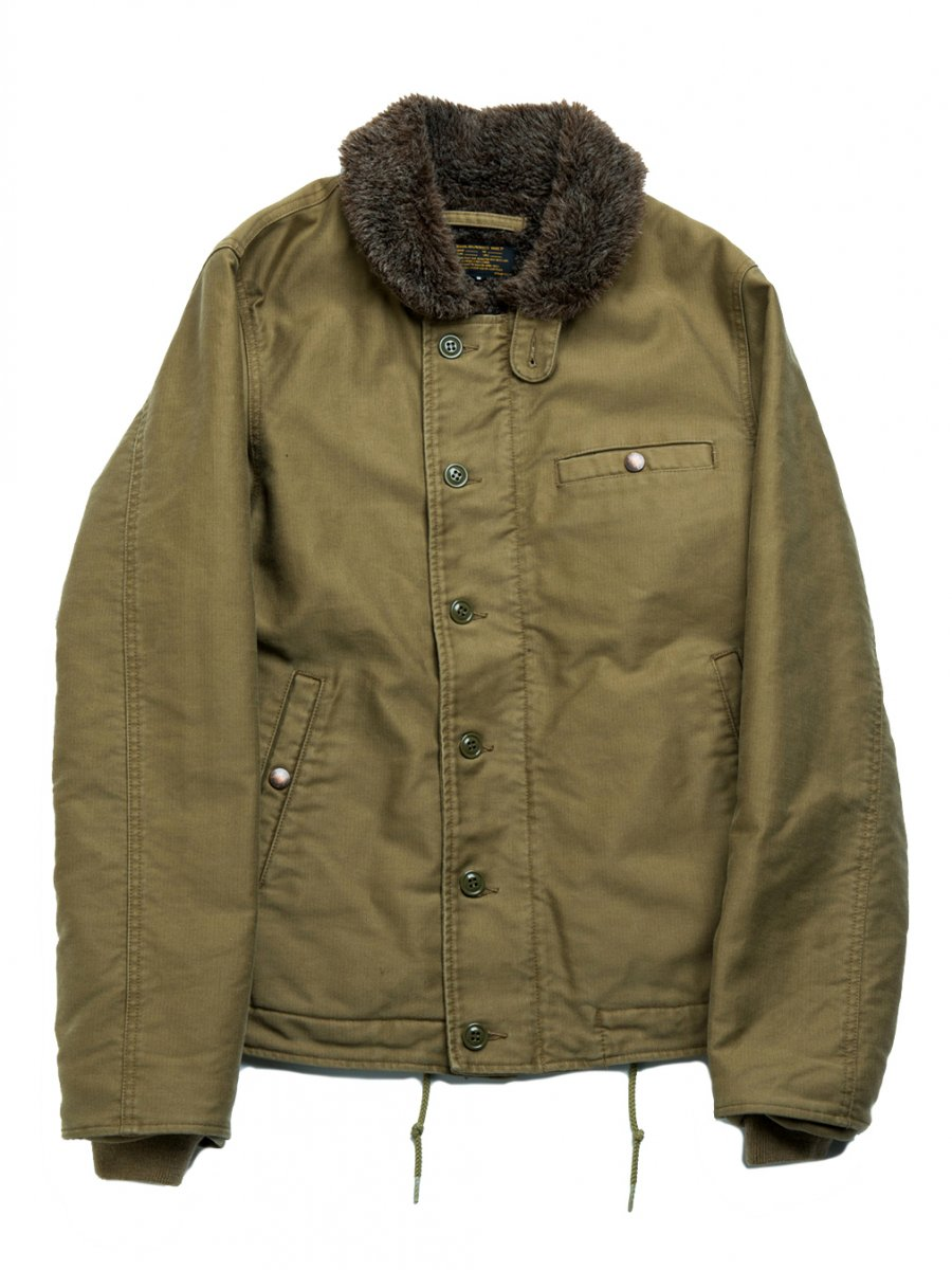 【Varde77×VASCO】 N-1 TYPE JACKET (KHAKI GRAY)