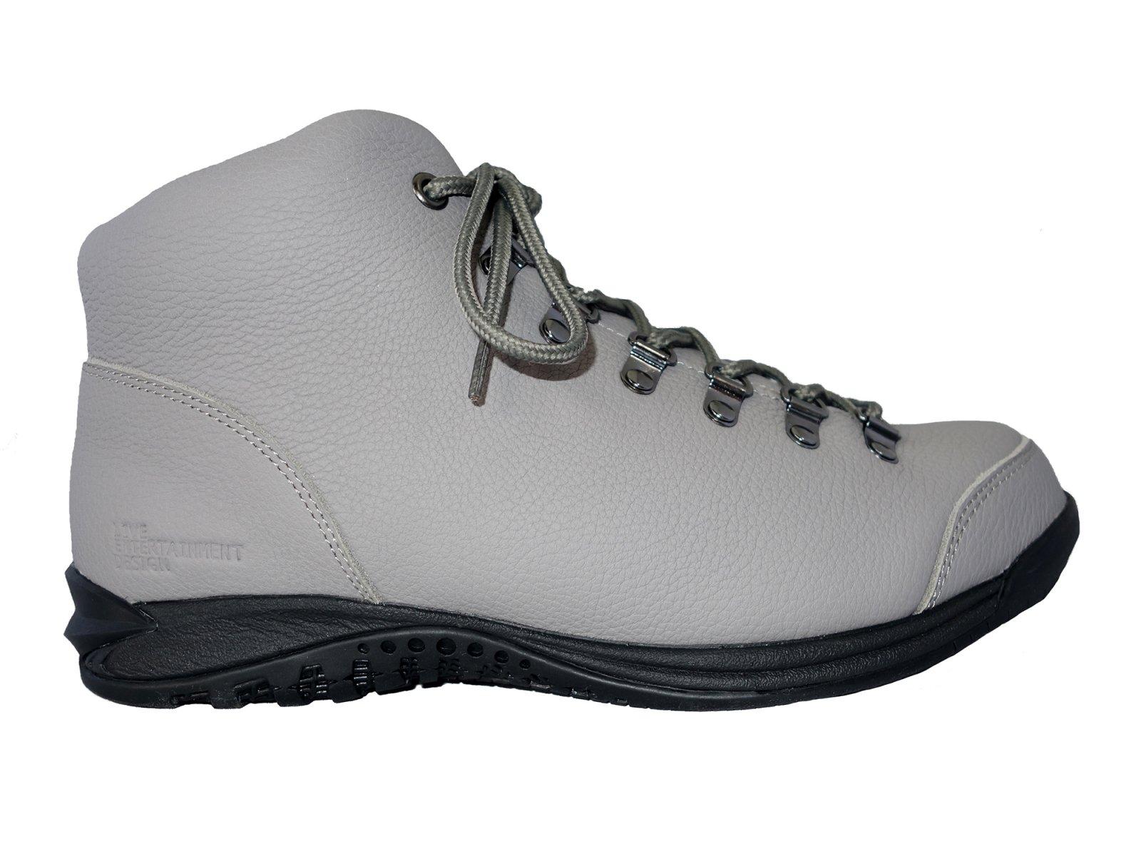 【LIVE ENTERTAINMENT DESIGN】Vibram sneaker boots  (Leather Grey)