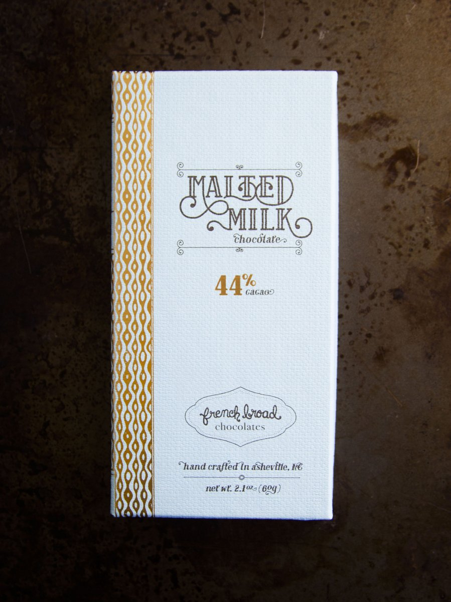 【French Broad Chocolate】Malted Milk...