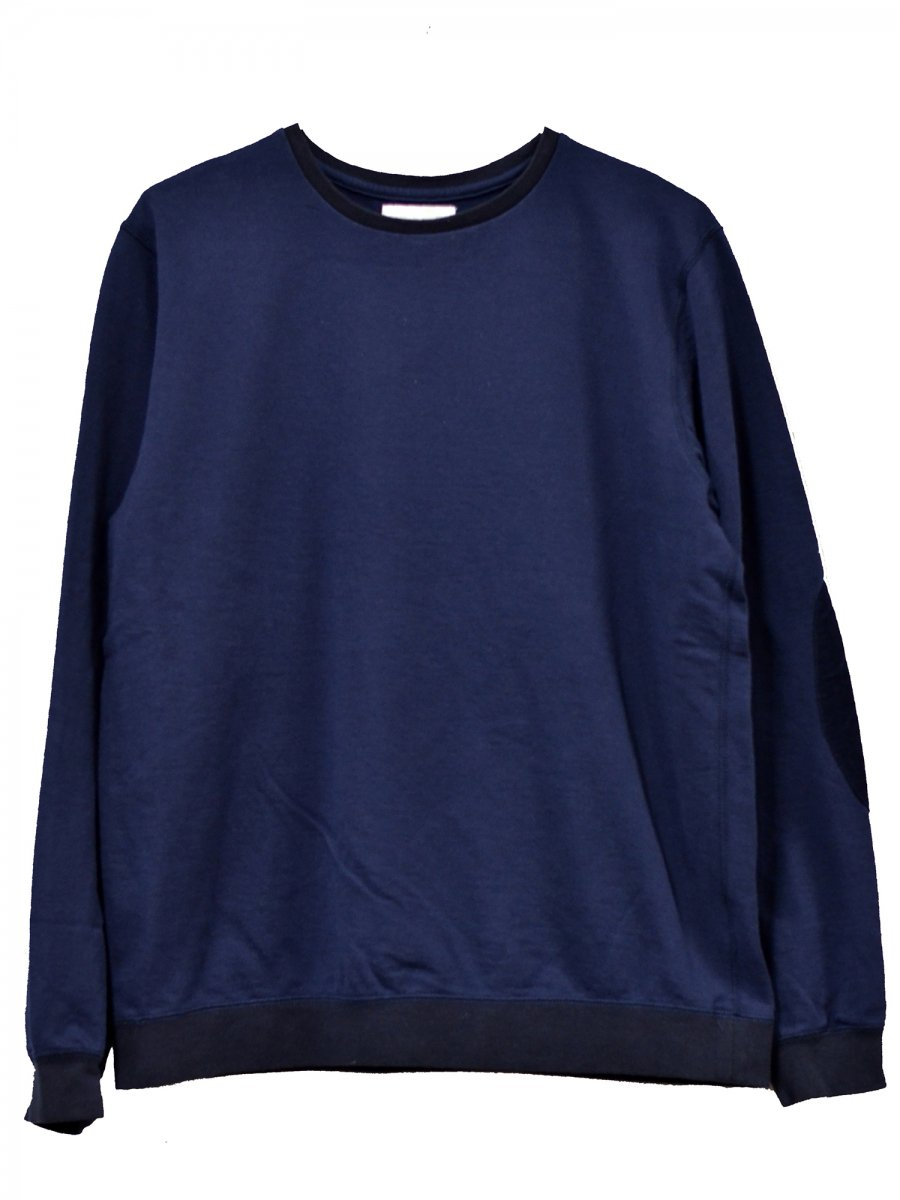 【soglia】Supple Sweat (NAVY)