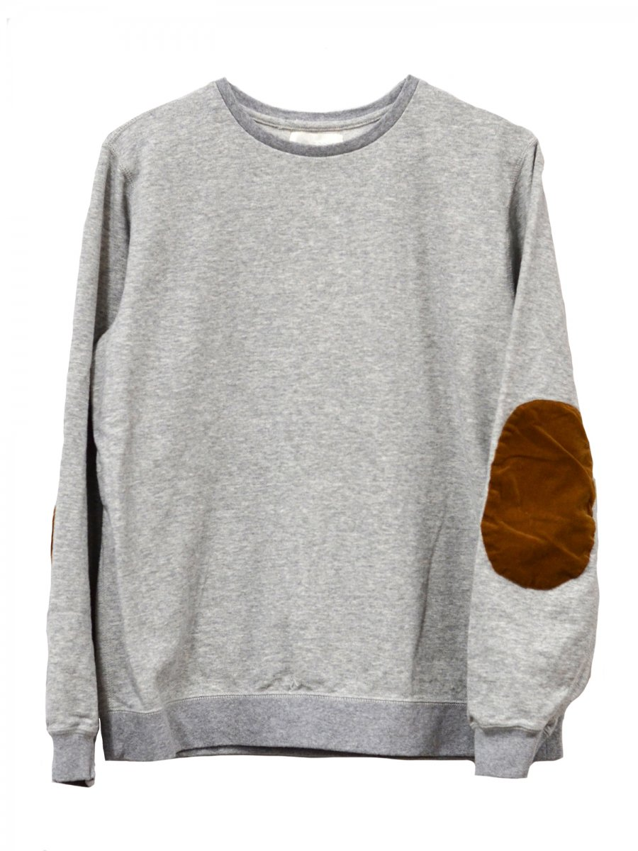 【soglia】Supple Sweat (LIGHT GRAY)