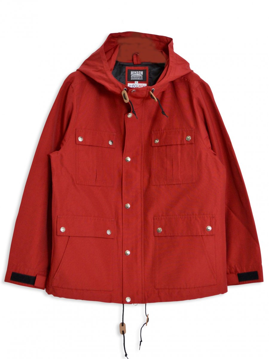 【SONTAKU】60/40 Mountain parka (RED)