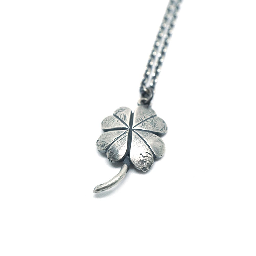 【 VARDE77 x THEFT 】CLOVER NECKLACE