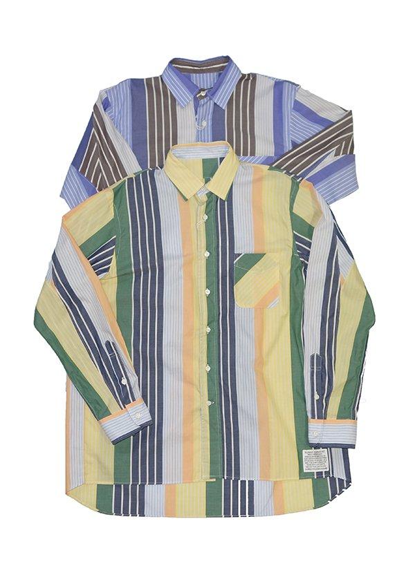 【PHABLICxKAZUI】Square atelier shirt (BEIGE)