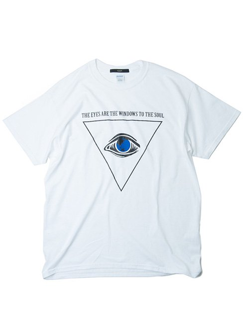 【Varde77】THE EYES T-SHIRTS (WHITE)