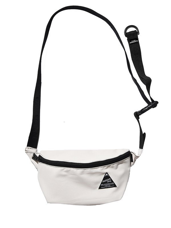 <img class='new_mark_img1' src='//img.shop-pro.jp/img/new/icons8.gif' style='border:none;display:inline;margin:0px;padding:0px;width:auto;' />【BELLWOODMADE MFG CO】HIPBAG STRIPE RIP (WHITE)