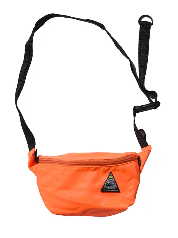 【BELLWOODMADE MFG CO】HIPBAG 80's (ORANGE)