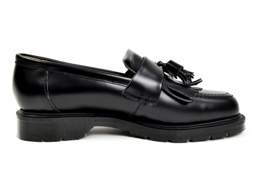 【SOLOVAIR ; ソロヴェアー】Tassel loafers  (BLACK)