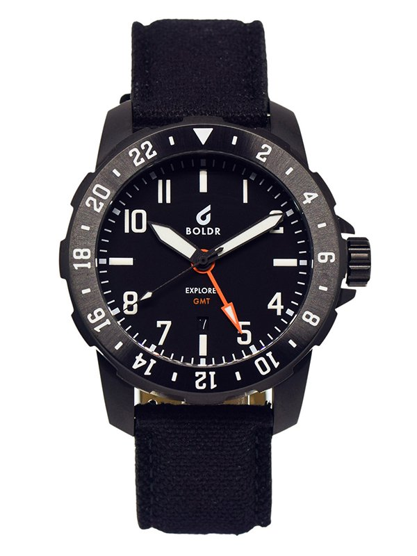 【BOLDR;ボールド】Explorer GMT (Black)