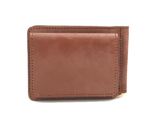 【RE.ACT】Bridle Leather Money Clip 財布 (HAZEL)
