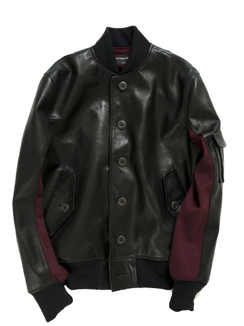 【Varde77】 ST-1 LEATHER JACKET  (BLACK)