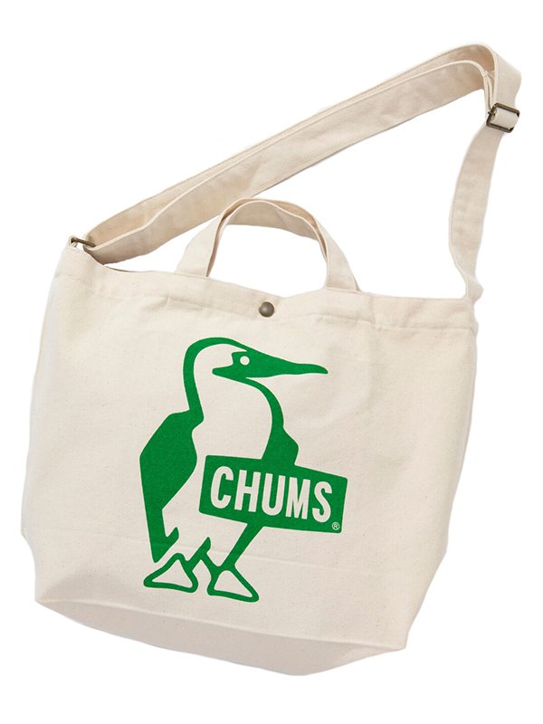 【CHUMS】 Booby Canvas Shoulder (GREEN)