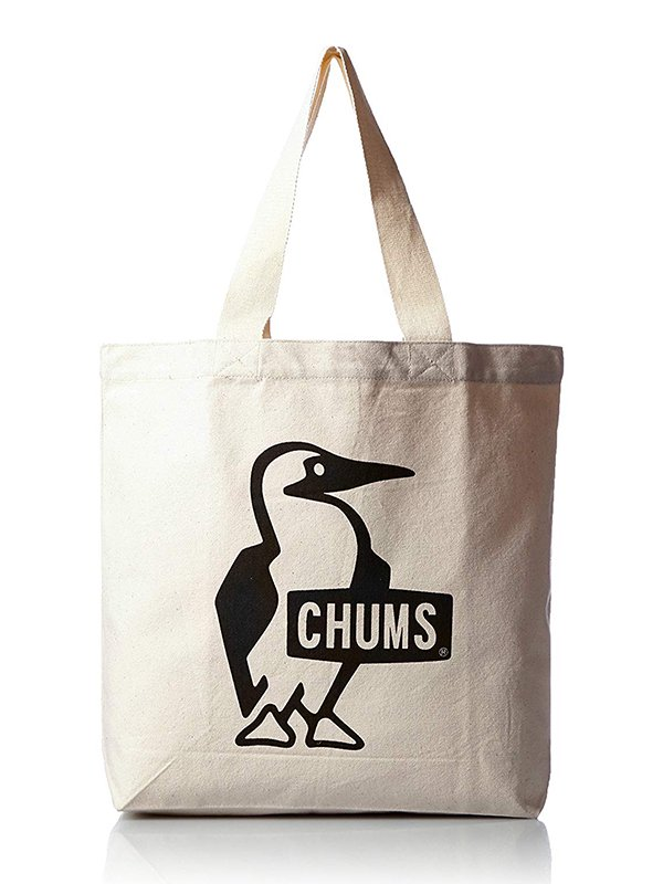 【CHUMS】 Booby Canvas Tote (BLACK)