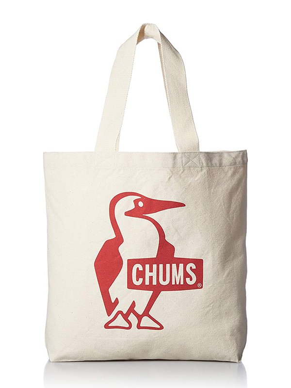 【CHUMS】 Booby Canvas Tote (RED)