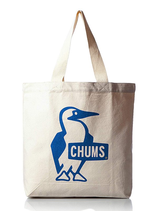 【CHUMS】 Booby Canvas Tote (BLUE)