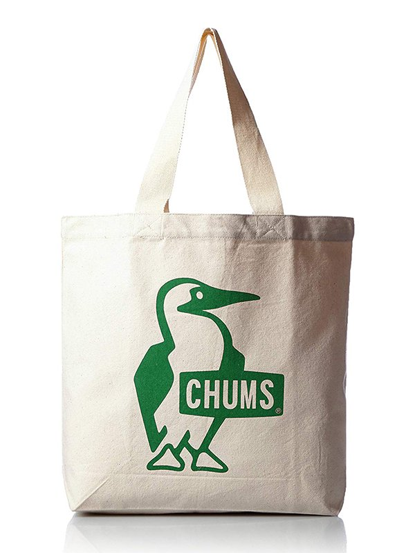 【CHUMS】 Booby Canvas Tote (GREEN)