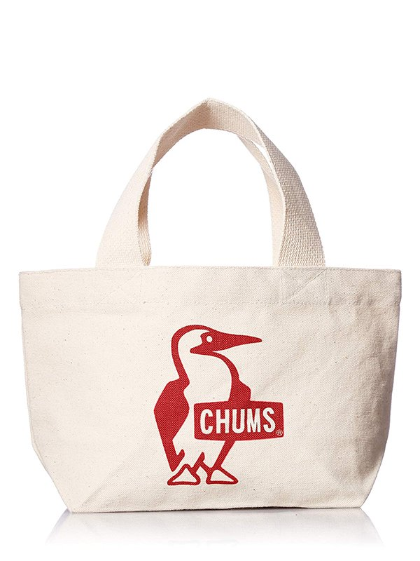 【CHUMS】 Booby Mini Canvas Tote (RED)