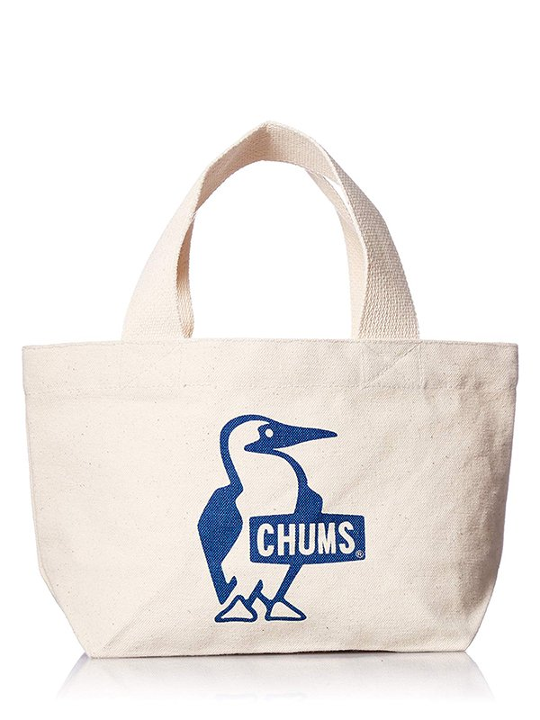 【CHUMS】 Booby Mini Canvas Tote (BLUE)
