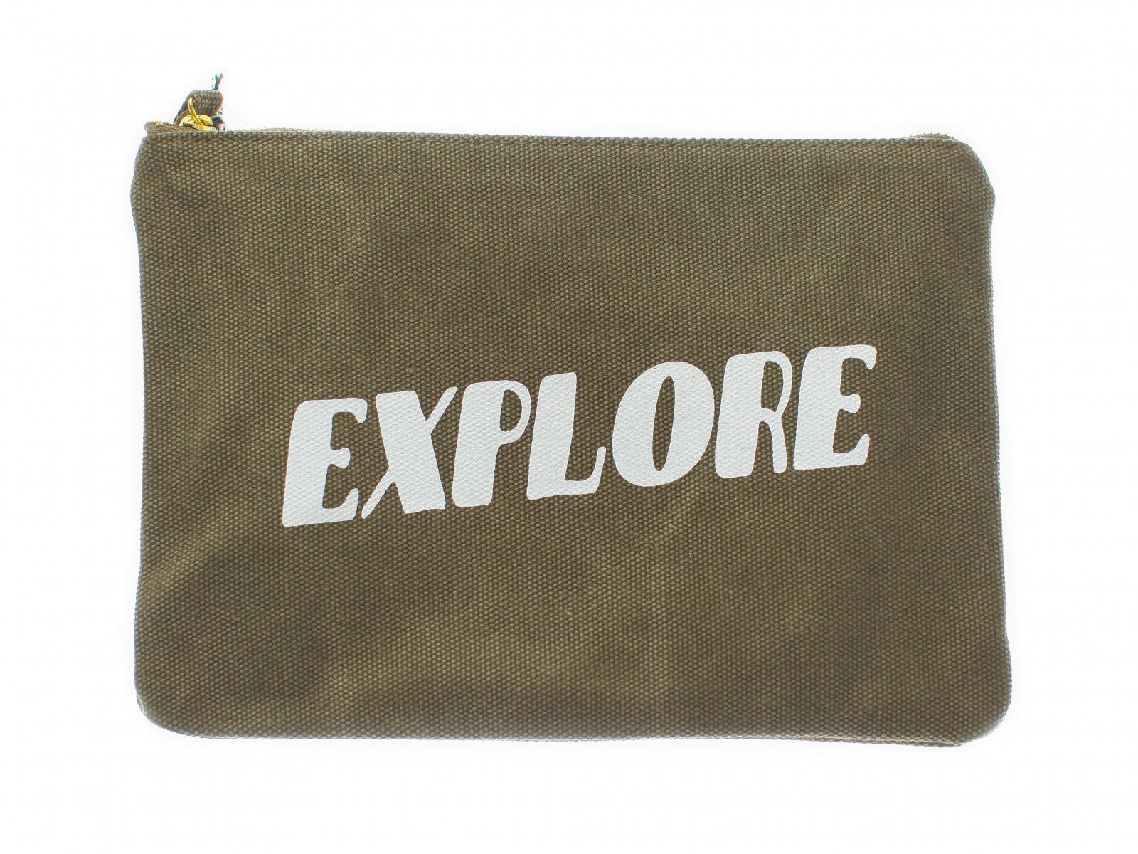 【IZOLA】Explore Zipper Pouch