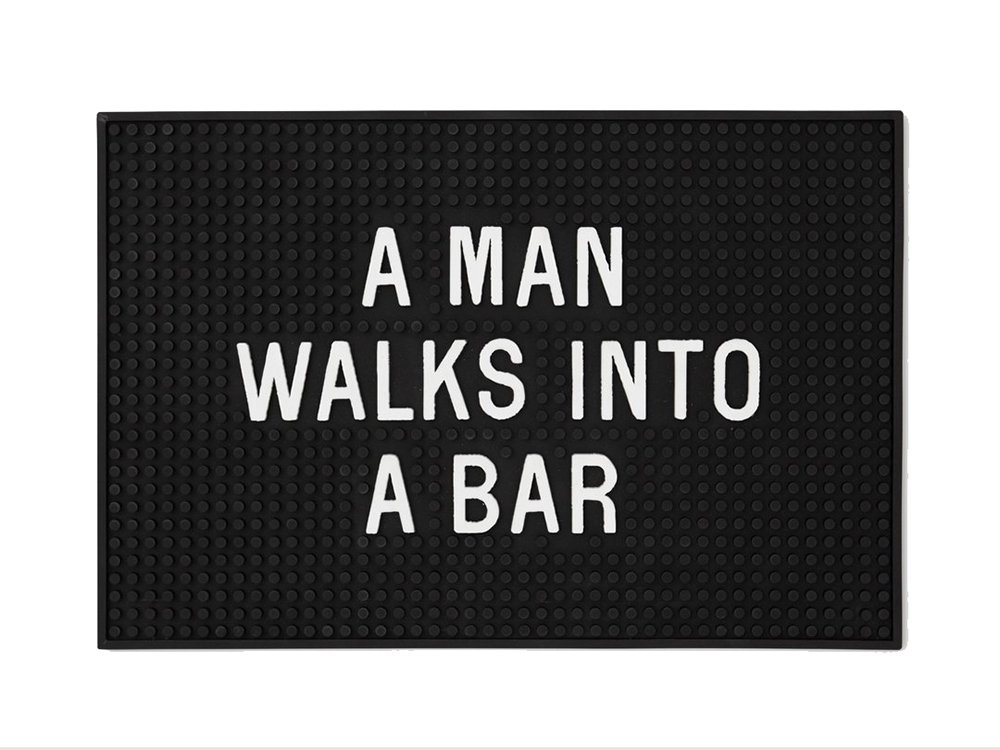 【IZOLA】A Man Walks Into A Bar Mat