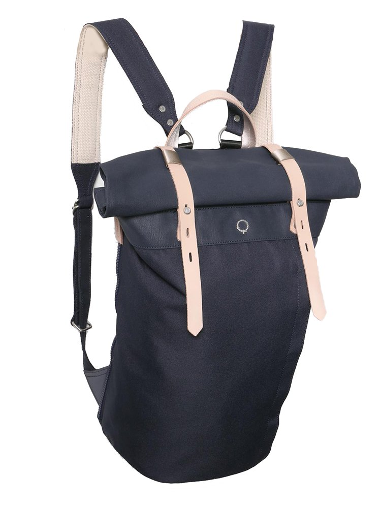 【STIGHLORGAN ; スティグローガン】 RORI Rolltop Laptop Backpack (Navy)