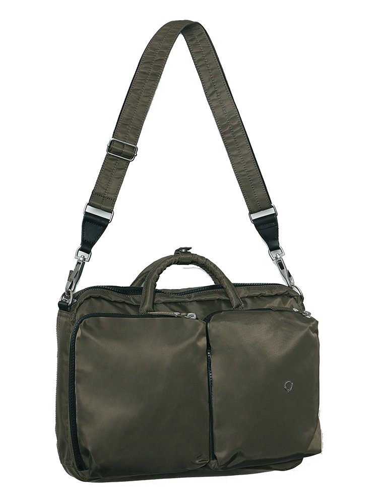 【STIGHLORGAN ; スティグローガン】SOLOMON Hybrid Backpack x Messenger Bag (Dark Olive)
