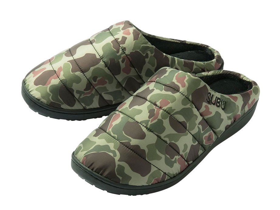 <img class='new_mark_img1' src='https://img.shop-pro.jp/img/new/icons8.gif' style='border:none;display:inline;margin:0px;padding:0px;width:auto;' />【SUBU : スブ】 Winter sandals (Duck Camo)