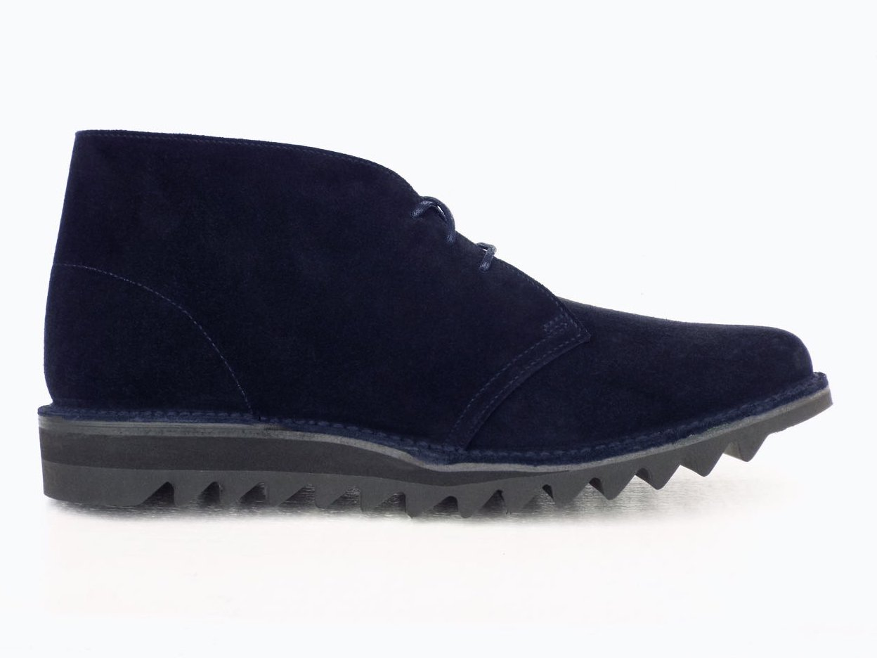 【Suffolk SHOES】SUEDE DESERT BOOTS  (Navy)