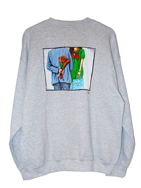 【LEFTY ART】BACKPRINT CREW NECK SWEAT (SURPRISE)