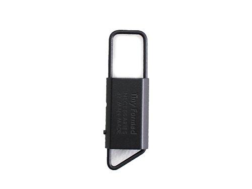 【Tiny Formed : タイニーフォームド】Tiny metal key fold キーフォールド (Black)