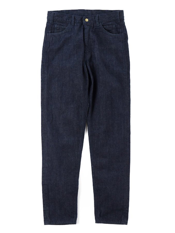 【Varde77】PARE AWAY STANDARD SLIM DENIM PANTS (BLUE)