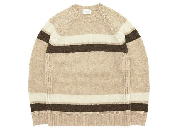 【soglia】LANDNOAH Sweater Border
