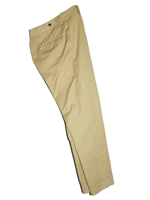 【BENINE】100/3/2 Dead stock oxford chino pants