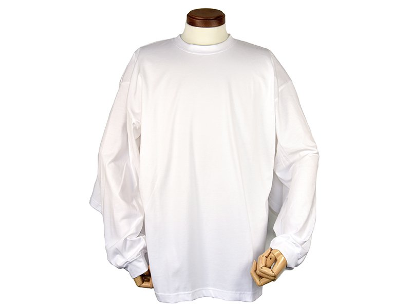 <img class='new_mark_img1' src='https://img.shop-pro.jp/img/new/icons8.gif' style='border:none;display:inline;margin:0px;padding:0px;width:auto;' />【foof】Double Sleeve long TEE