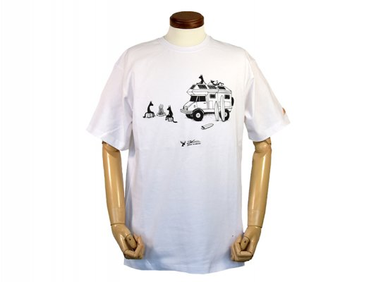 【KELTY ; ケルティ】TEE CAMPING WOLVES