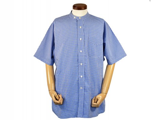 <img class='new_mark_img1' src='https://img.shop-pro.jp/img/new/icons8.gif' style='border:none;display:inline;margin:0px;padding:0px;width:auto;' />【SUNNY ELEMENT】PARK SHIRTS S/S (GINGHAM CHECK)