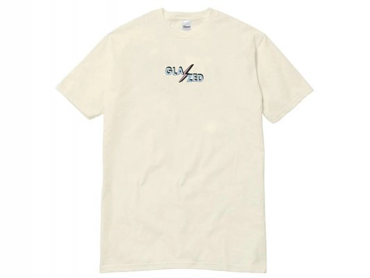 <img class='new_mark_img1' src='https://img.shop-pro.jp/img/new/icons8.gif' style='border:none;display:inline;margin:0px;padding:0px;width:auto;' />【Glazed】BOLT T-SHIRT (CREAM)