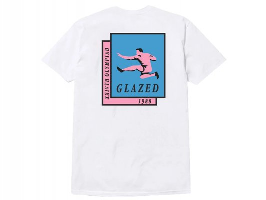 <img class='new_mark_img1' src='https://img.shop-pro.jp/img/new/icons8.gif' style='border:none;display:inline;margin:0px;padding:0px;width:auto;' />【Glazed】OLYMPICS T-SHIRT