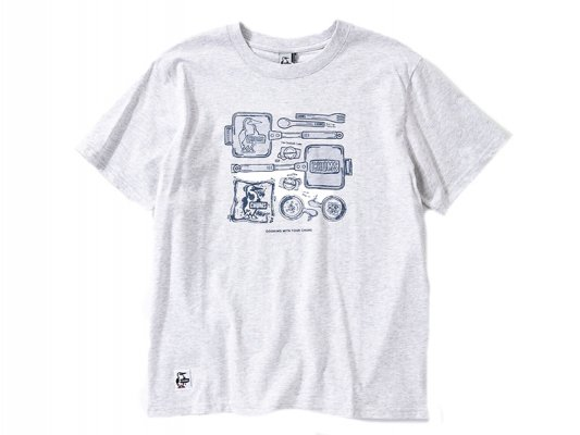 <img class='new_mark_img1' src='https://img.shop-pro.jp/img/new/icons8.gif' style='border:none;display:inline;margin:0px;padding:0px;width:auto;' />【CHUMS】 Camp Kitchenware T-Shirt
