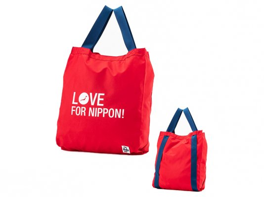 <img class='new_mark_img1' src='https://img.shop-pro.jp/img/new/icons8.gif' style='border:none;display:inline;margin:0px;padding:0px;width:auto;' />【CHUMS】   Love For Nippon 2Way Eco Bag