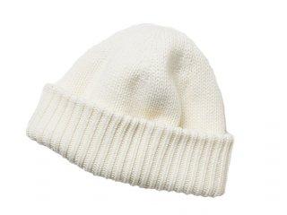 【crepuscule】  Knit cap (White)