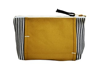 【LAYER x LAYER】 POUCH (Beige / Stripe)