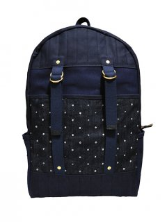 【LAYER x LAYER】 ALEUTIAN PACK (Denim / Indigo dot)